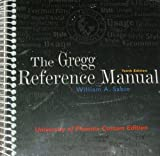 Gregg Reference Manual (University of Phoenix 10th Custom Edition) (0073137693) by Gregg