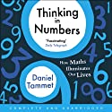 Thinking in Numbers (       UNABRIDGED) by Daniel Tammet Narrated by Daniel Tammet