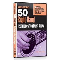 Murial Anderson - 50 Right Hand Techniques You Must Know