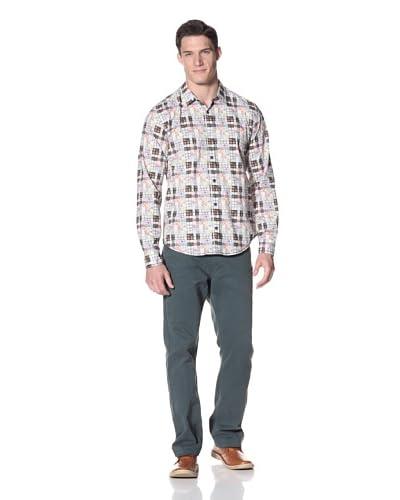 Desigual Men's Long Sleeve Woven Shirt