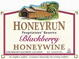 NV HoneyRun Winery Blackberry Honeywine 750 mL