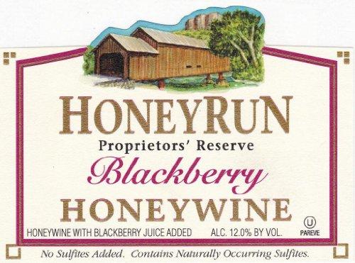 Nv Honeyrun Winery Blackberry Honeywine 750 Ml