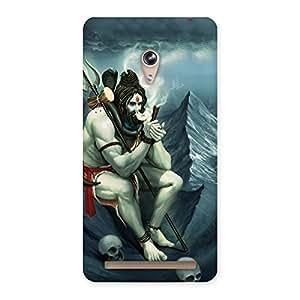 Special Shiva Multicolor Back Case Cover for Zenfone 6