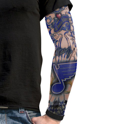 Amazon.com : NHL St. Louis Blues Light Undertone Tattoo Sleeve