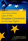 img - for Harris, O'Boyle, and Warbrick Law of the European Convention on Human Rights book / textbook / text book