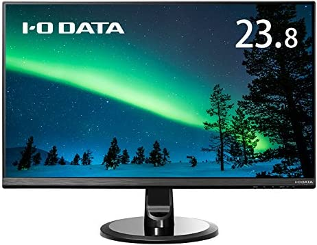 I-O DATAモニター ディスプレイ LCD-MF245XDB 23.8型 (広視野角&フレームレスパネル採用/フルHD/5年保証)