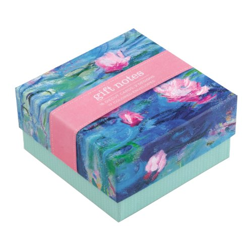 Monet Waterlilies Gift Notes