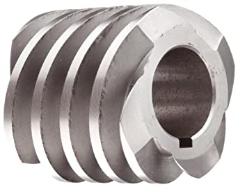 "Boston Gear D1627KLH Worm Gear, 14.5 Degree Pressure Angle, 0.875"" Bore, 8 Pitch, 1.5 PD, LH"
