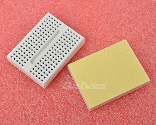 Heartsea Technology1Pcs White Solderless Prototype Breadboard 170 Tie-Points For Arduino