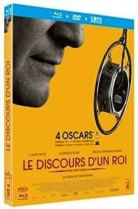 Le Discours d'un Roi (Oscar® 2011 du Meilleur Film, Meilleur Réalisateur & Meilleur Acteur & Meilleur Scénario) [Blu-ray] [Combo Blu-ray + DVD + Copie digitale]