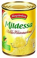 Hengstenberg Mildessa Mild German Wine Sauerkraut, 19.4-Ounce Tins (Pack of 12) from Hengstenberg
