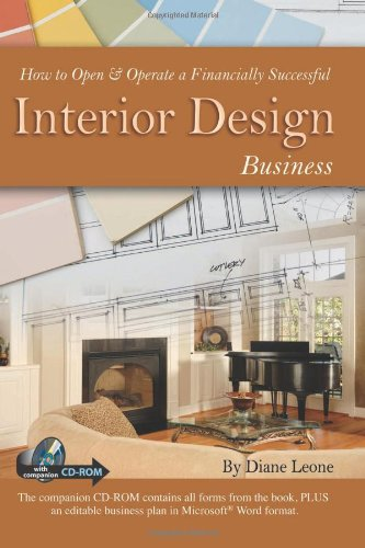 How To Open & Operate A Financially Successful Interior Design Business (With Companion CD) - Atlantic Publishing Company (FL) - 1601382626 - ISBN:1601382626