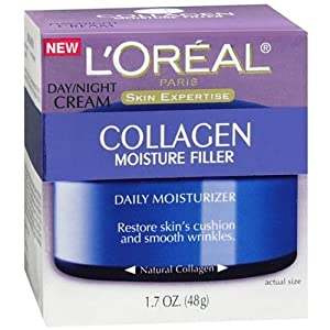 L'Oreal Paris Collagen Moisture Filler Day/Night Cream, 1.7 Fluid Ounce