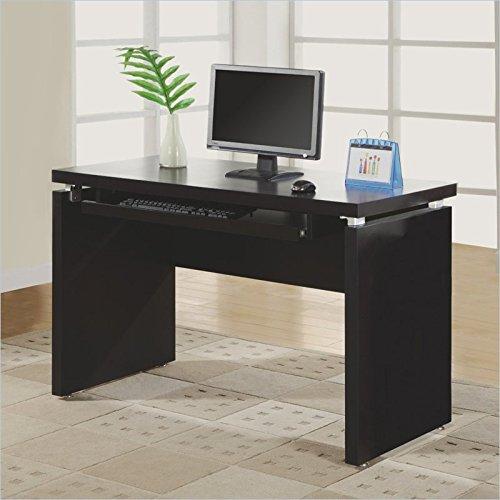 Monarch Specialties Length Computer Desk, 48-Inch, Cappuccino