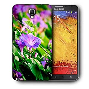 Snoogg Red Flower Printed Protective Phone Back Case Cover For Samsung Galaxy NOTE 3 NEO / Note III