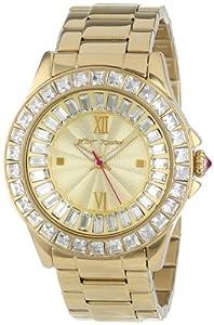 Betsey Johnson Women's BJ00004-16 Analog Display Quartz Gold Watch