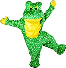Deluxe Plush Frog Mascot Adult Costume - Deluxe Plush Frog Mascot Adult Costumeincludes Body Suit An