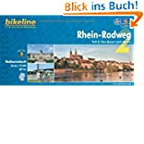 bikeline Radtourenbuch, Rhein-Radweg Teil 2: Von Basel nach Mainz, wetterfest/reißfest