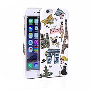iPhone 6/6s Case WaKase [Voyage] Slim Fit Design Printed Fine Texture PC Case - Paris