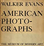 Walker Evans American Photographs
