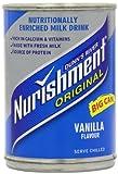 Nurishment Vanilla Flavour Milk Drink 400 g (Pack of 12)