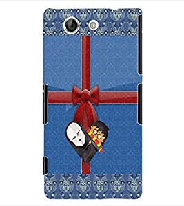 ColourCraft Cartoon Back Case Cover for SONY XPERIA Z4 COMPACT