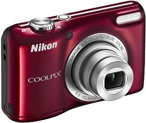 Nikon Coolpix L27 Appareils Photo Numériques 16.4 Mpix Zoom Optique 5 x Rouge