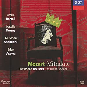 Mozart - Mitridate Re Di Ponto from Decca