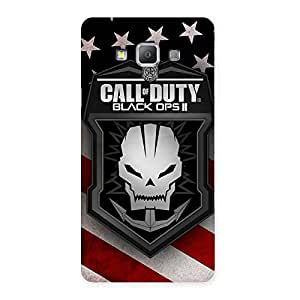 Duty Calling Back Case Cover for Galaxy A7