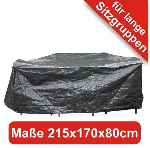 Schutzhülle 215x170x80cm grau für lange Sitzgruppen online bestellen
