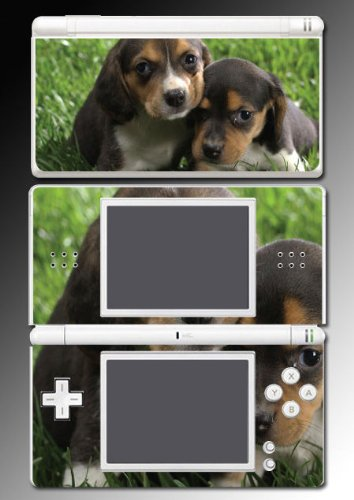 Beagle Puppy Dog Cute Pet Gift Video Game Vinyl Decal Skin Protector Cover For Nintendo Ds Lite