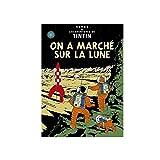Poster Moulinsart Album de Tintin: On a marché sur la Lune 22160 (70x50cm)...