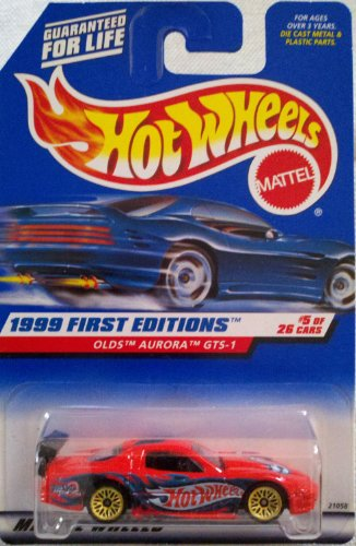 Hot Wheels 1999 First Editions - Collector No. 911 - Olds Aurora GTS-1