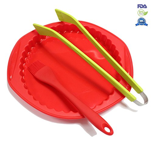 Fontaine 3 Pieces Cookware Utility Silicone Baking Tool Set