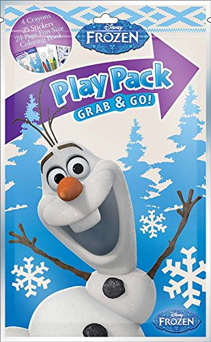 Disney Frozen Fun with Olaf Grab & Go! Play Pack - 1
