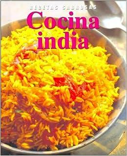 Recetas Sabrosas: Cocina India: 9781405425568: Amazon.com: Books