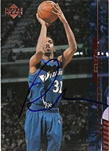 Richard Hamilton Autographed Hand Signed Basketball Card (Washington Wizards) 2000... by Hall of Fame Memorabilia