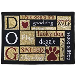 PB PAWS PET COLLECTION BY PARK B. SMITH I Love Dogs Tapestry Indoor Outdoor  Pet