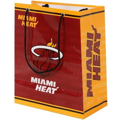 Amazon.com : NBA Miami Heat Medium Gift Bag : Basketball Equipment : Sports & Outdoors