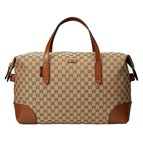 Gucci Original GG Canvas Carry-On Duffle Bag 308925