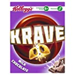 Kellogg's Krave Milk Chocolate 375g