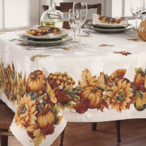Thanksgiving Fabric Tablecloths Thanksgiving Wikii - Thanksgiving-table-cloth