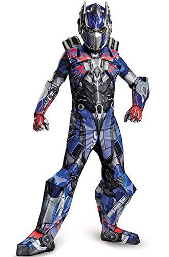 [Mememall Fashion Transformers Optimus Prime Prestige Child Costume] (Prestige Optimus Prime Kids Costumes)