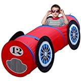 Children's Race Car Play Tent Tunnel by Gigatent