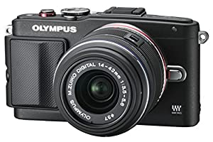 Olympus PEN E-PL6 Digital Camera with 14-42mm II Lens