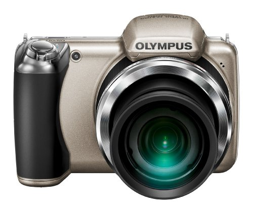 Olympus SP-810UZ Silver 14.0 MP, 36x wide Zoom, V103020SE000