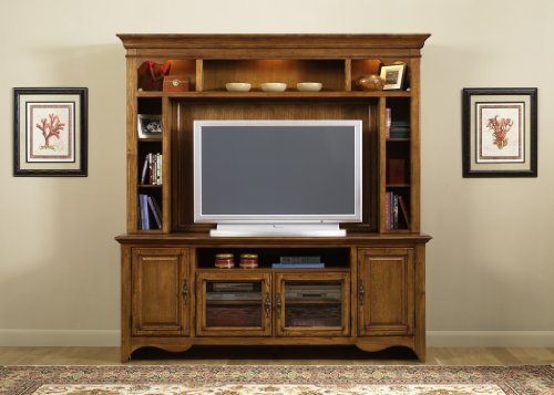 Cheap LIBERTY NEW GENERATION ENTERTAINMENT CENTER TV STAND & HUTCH TRADITIONAL CHERRY (640-ENT)