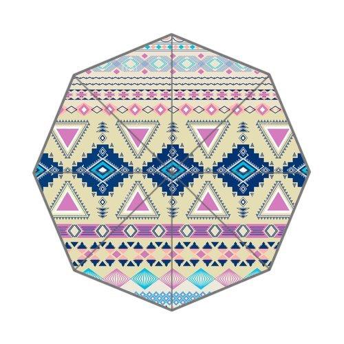 "Anhome Stylish Hot Aztec Tribal Pattern Newly Design Auto Folding Foldable Umbrella 25.6""X 21.7""X 13.8"" front-921021"