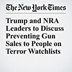 Trump and NRA Leaders to Discuss Preventing Gun Sales to People on Terror Watchlists | Ashley Parker,David M. Herszenhorn