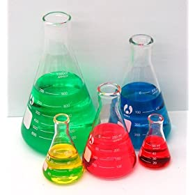 SEOH Erlenmeyer Flask Set 50 125 250 500 and 1000ml